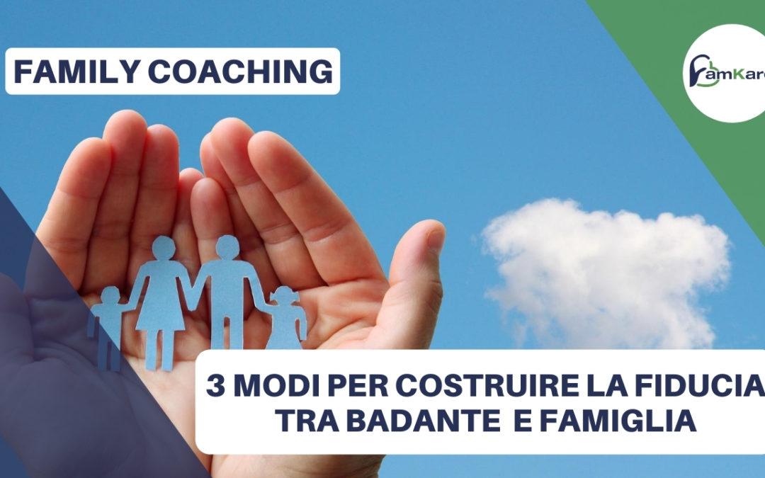La fiducia tra badante (e babysitter) e famiglia?